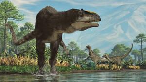 Yixian Formation: Yutyrannus and Beipiaosaurus
