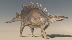 Stegosaurus Texture Test
