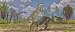 Scutellosaurus and Massospondylus