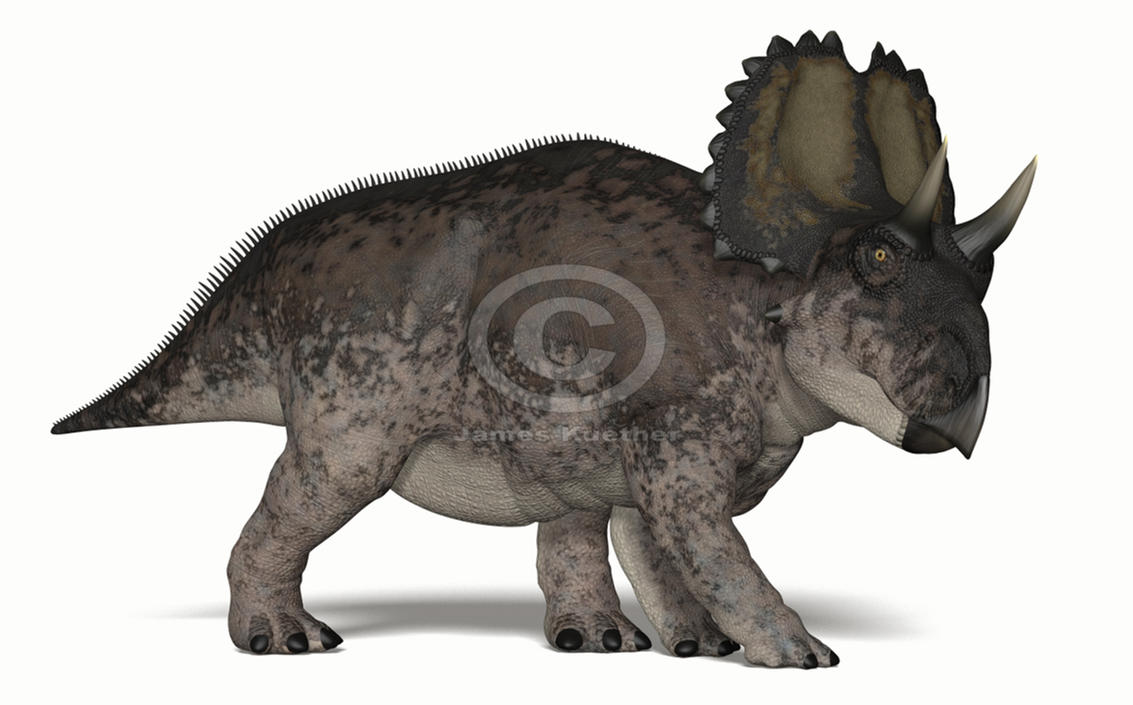 Yehuecauhceratops by PaleoGuy