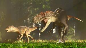 Sinraptor and Yinlong