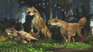 Psittacosaurus Sibericus