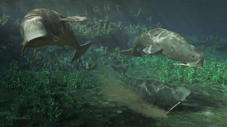 Odobenocetops by PaleoGuy