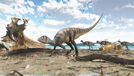 Weewarrasaurus 2 by PaleoGuy