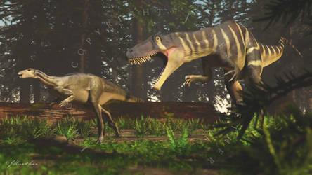 Megaraptor by PaleoGuy