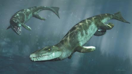 Dakosaurus by PaleoGuy