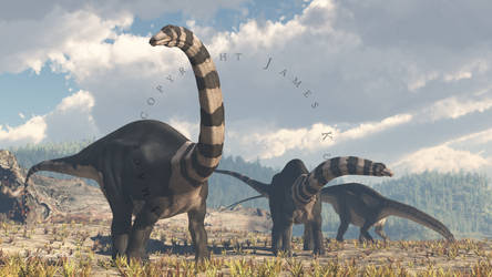 Brontosaurus by PaleoGuy