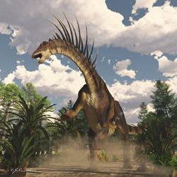 Badassasaurus....oops I mean Bajadasaurus by PaleoGuy