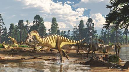 Galleonosaurus by PaleoGuy