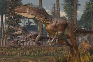 Allosaurus by PaleoGuy