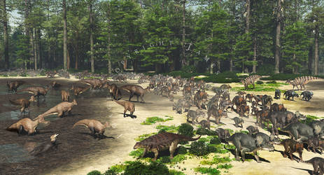 Dinosaur Park Formation Megaherbivore Assemblage
