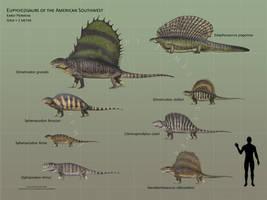 Eupelycosaurs of Western North America
