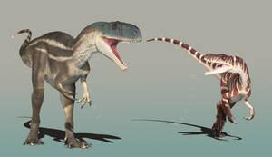 Asfaltovenator and Gnathovorax