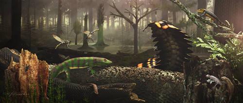Joggins Formation - Carboniferous Period