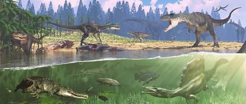 Life On Earth: Kem Kem Group Early Late Cretaceous
