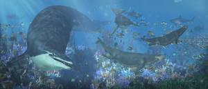 Basilosaurus, Dorudon, Protosiren