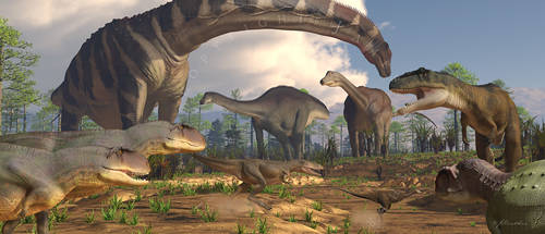 Life On Earth: Huincul Fmtn: Early Late Cretaceous