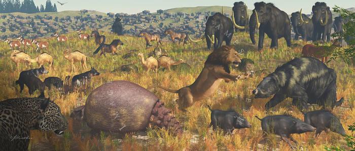 Late Pleistocene: North American Savannah .012 MYA