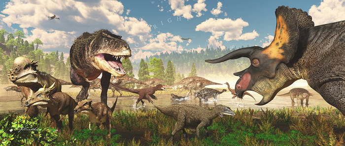 Life on Earth: Hell Creek Frmtn: Latest Cretaceous