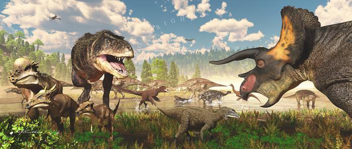 Life on Earth: Hell Creek Frmtn: Latest Cretaceous