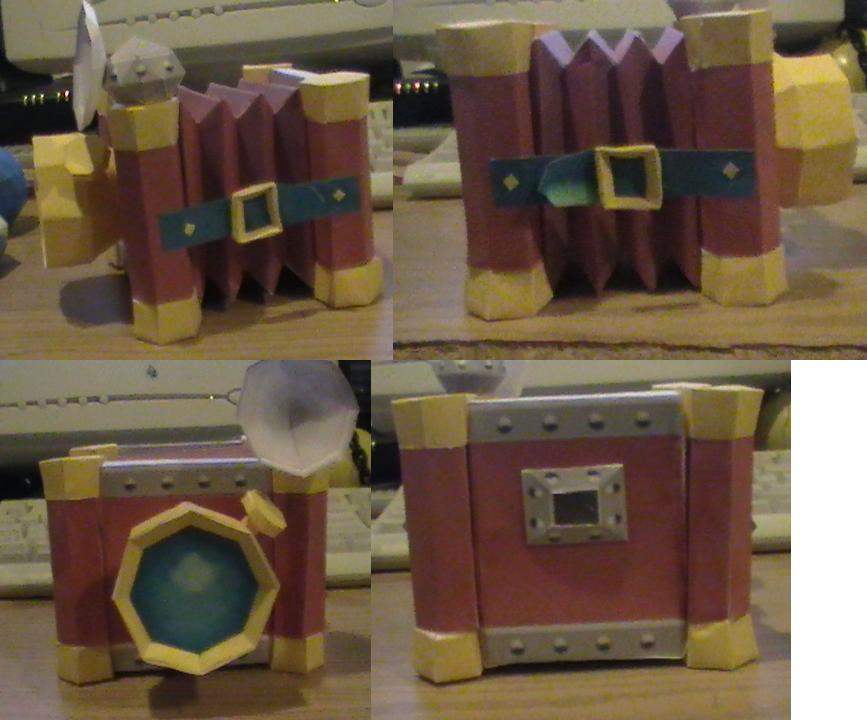 Deluxe PictoBox papercraft by NinjaKirby144