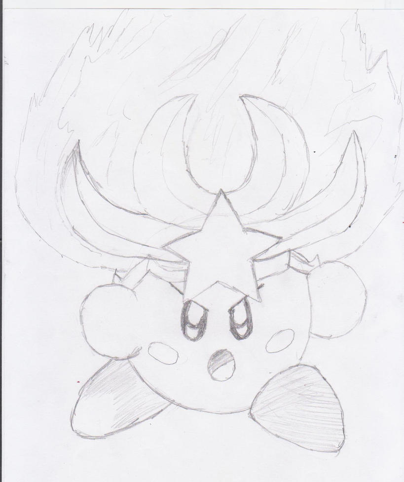 Monster Flame Kirby by NinjaKirby144 on DeviantArt