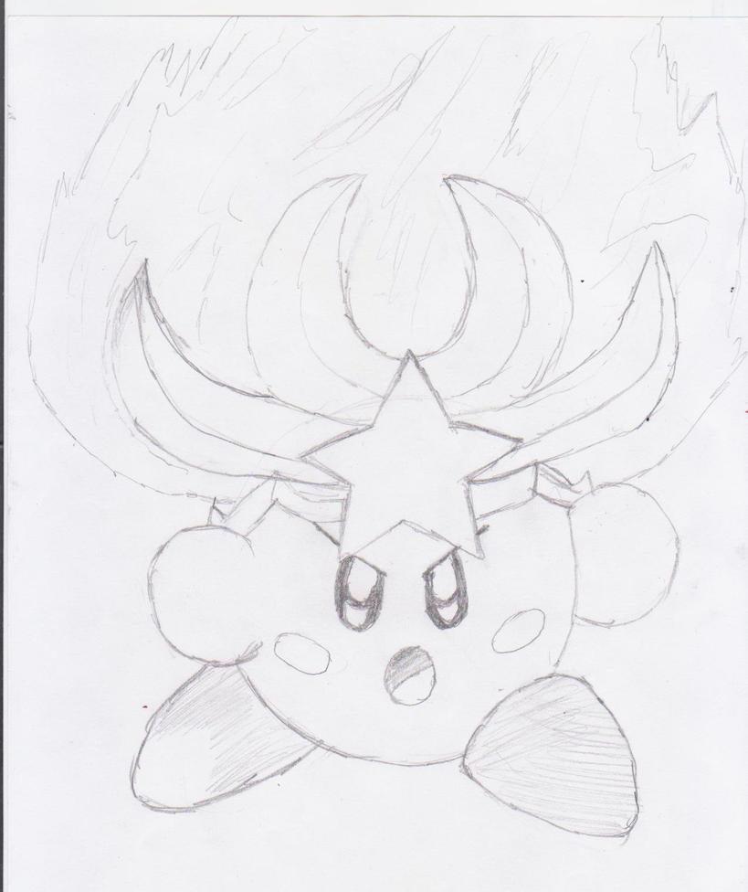 Monster Flame Kirby by NinjaKirby144 on DeviantArt