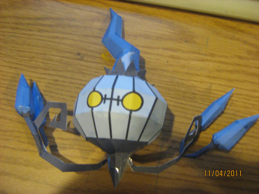 Chandelue papercraft by NinjaKirby144