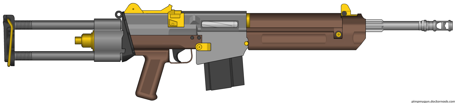 Another Semi-Auto Carbine by AtholTheDestroyer