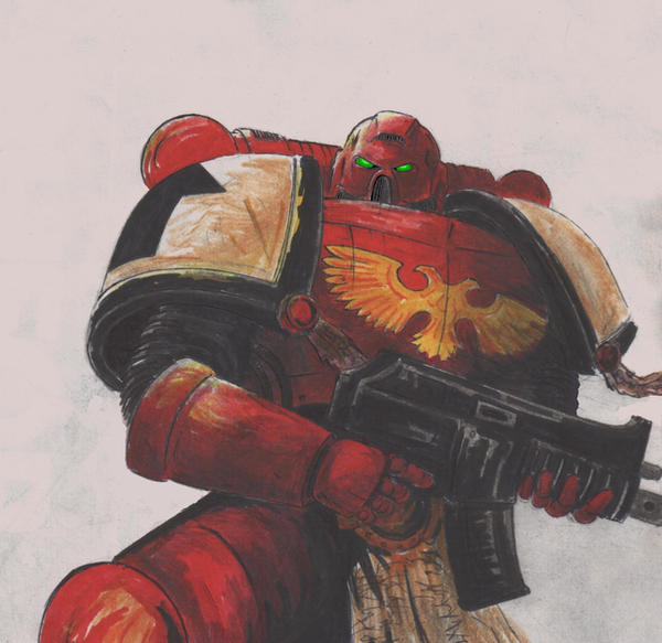 Space marine by xxandriuchaxx