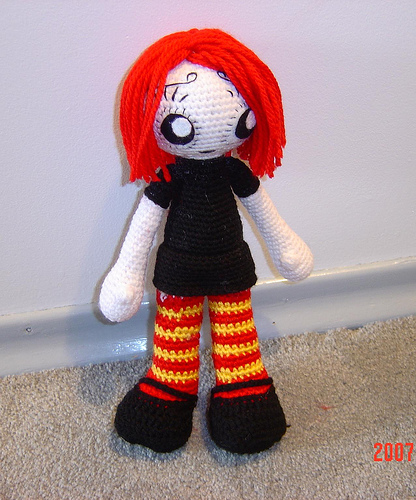Crochet Ruby by MHSU
