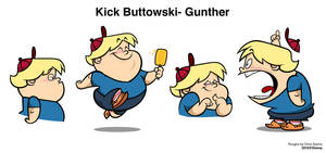 Kick Buttowski- Gunther