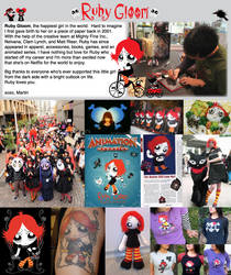Ruby Gloom Artist Martin Hsu by MHSU