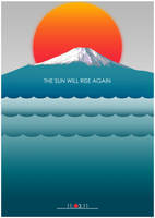 Japan sun will rise again by KarolisKJ