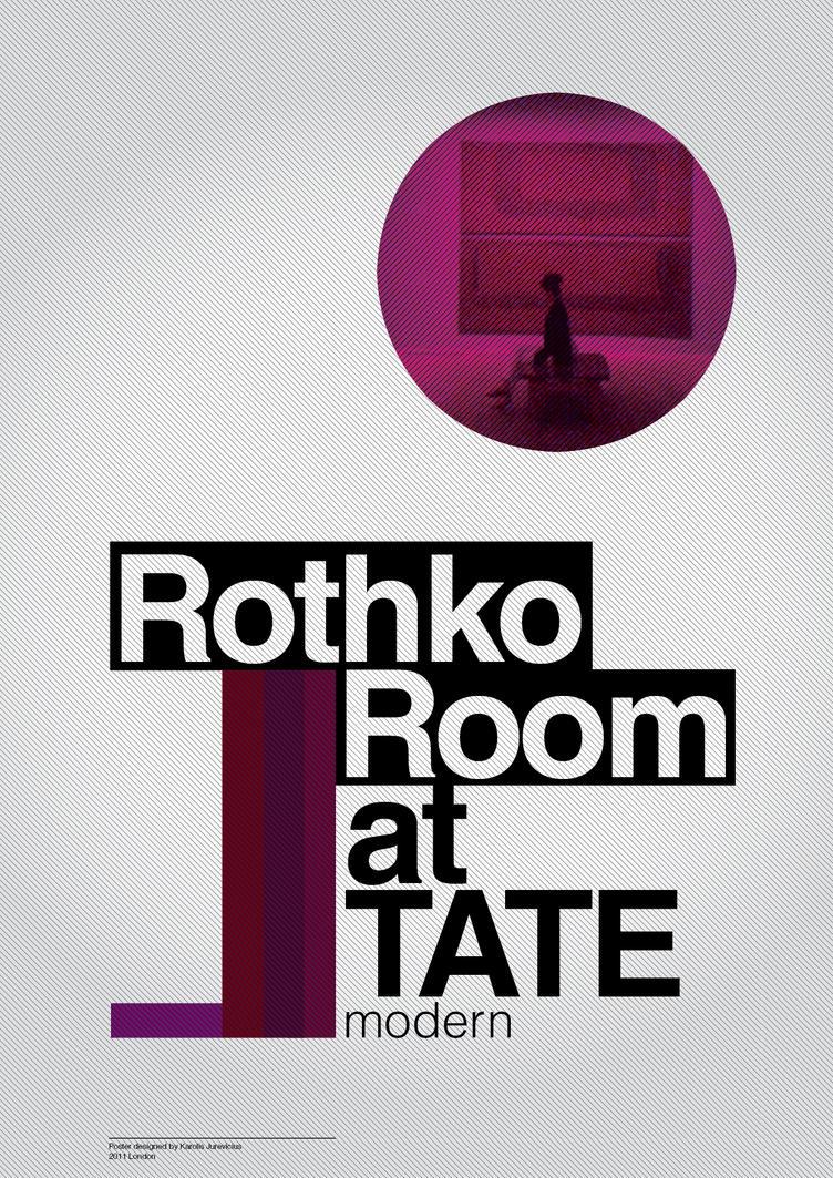 Rothko Room poster by KarolisKJ. Rothko Room poster by KarolisKJ on DeviantArt