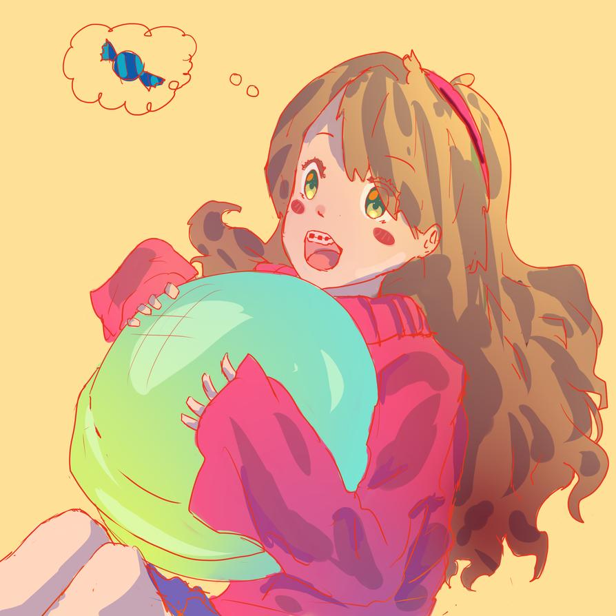 Gravity falls mabel anime