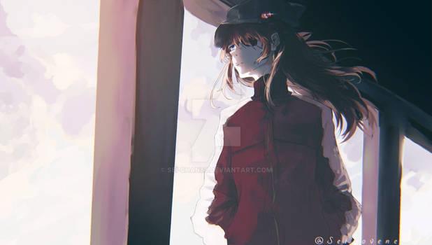 Asuka evangelion wallpaper