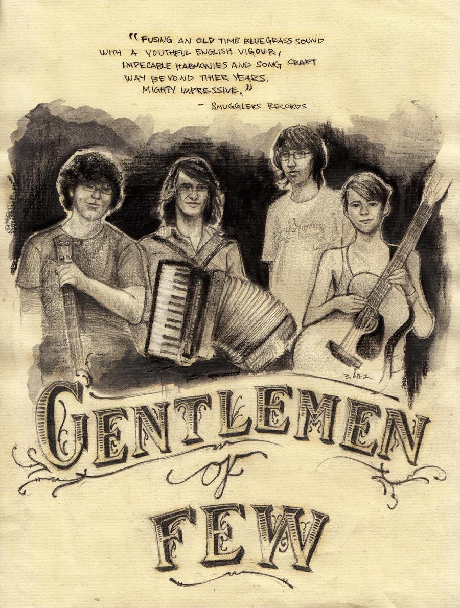 Gentlemen Of Few -commission by Gothvm