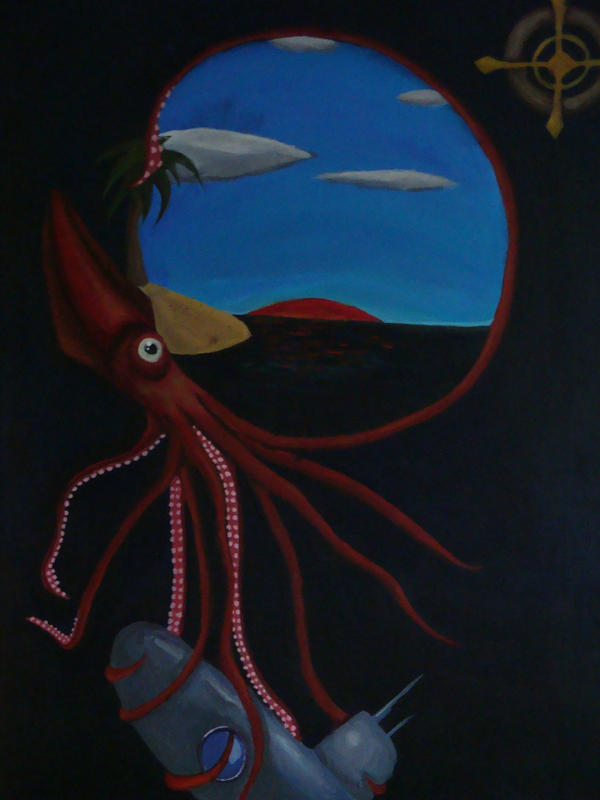 The Deep Blue by thecrazymonkeyhen