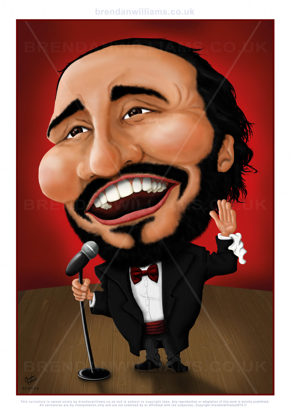 Image result for luciano pavarotti clip art images