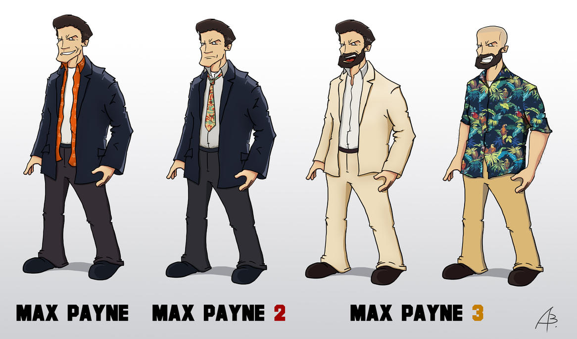 The Evolution Of Max Payne 308474613 on Fall Pre School
