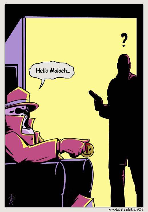 Rorschach - Hello Moloch by jackoozy