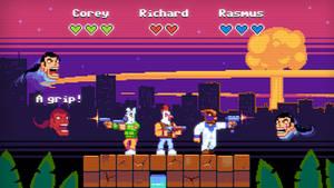 Hotline Miami: The Arcade by jackoozy