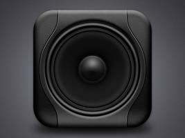 Studio monitor icon