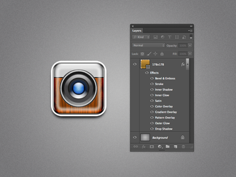 One Layer Style Camera.psd