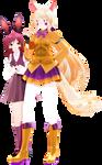 [MMDxFNaF] Like orange-and-raspberry ice cream