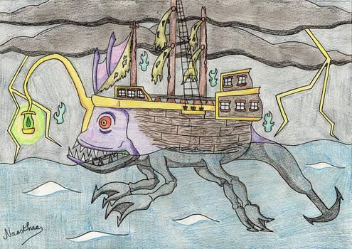 Gylaran the Zombie Ship!
