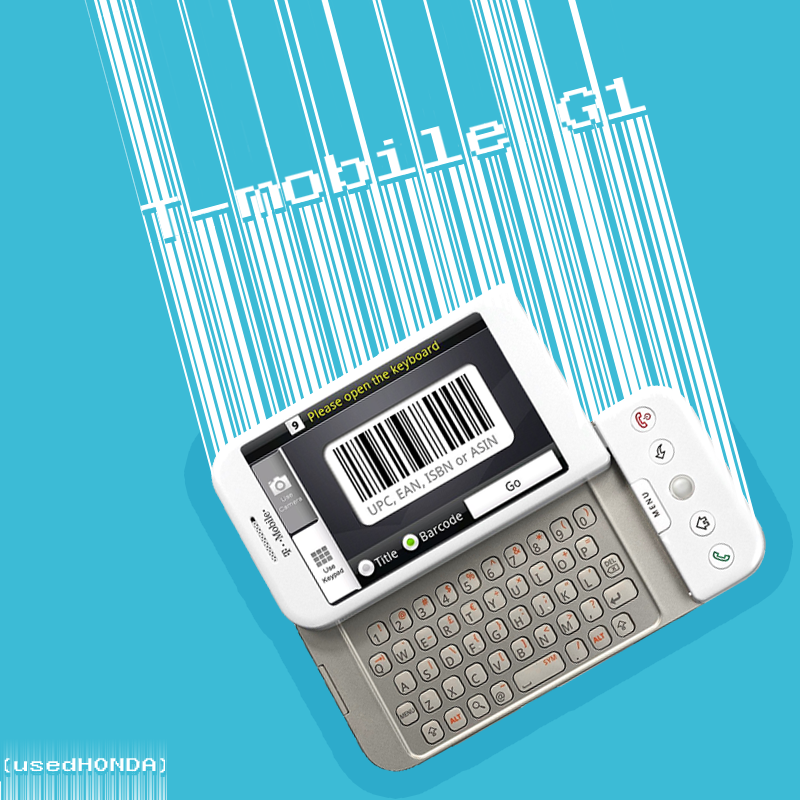 HTC Dream or T-Mobile G1 ad by usedHONDA