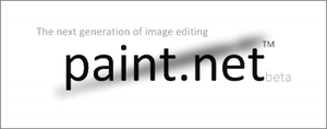 Paint.NET splash screen v2.1