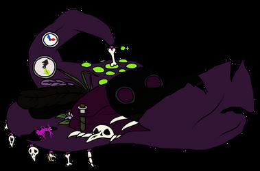 Bubonic Witch by VampireDragon090